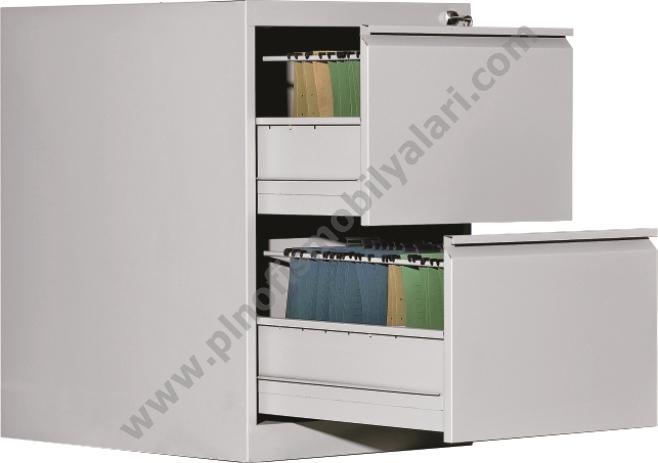 İkili Çelik Ofis Dolabı - PLN-1038